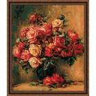 UAB RIOLIS . RIO Bouquet Roses - Cross Stitch