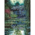 MCG Textiles . MCG Monet's Japanese Bridge Picture