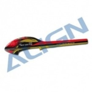 Align RC . AGN (DISC) - 500 SPEED FUSELAGE RED/YELLOW