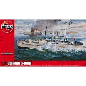 Airfix . ARX 1/72 GERMAN S BOAT