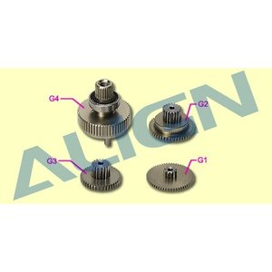 Align RC . AGN (DISC) - GEAR SET FOR DS615 SERVO