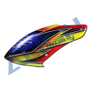 Align RC . AGN (DISC) - 500PRO DFC PAINTED CANOPY