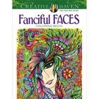 Dover Publishing . DOV FANCIFUL FACES COLOR BK
