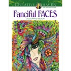 Dover Publishing . DOV Fanciful Faces Coloring Book