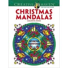 Dover Publishing . DOV Christmas Mandala Coloring Book