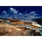 Trefl (puzzles) . TRF Hot Spring Yellowstone 2000Pc Puzzle