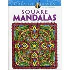 Dover Publishing . DOV SQUARE  MANDALA CLR BK