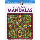 Dover Publishing . DOV Square Mandalas Coloring Book