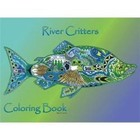 Earthart Coloring Books . EAC RIVER CRITTERS COLOR BK