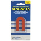 Magnet Source (the) . MGU RED ALNICO HORSESHOE W/KEEPER
