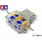 Tamiya America Inc. . TAM DOUBLE GEARBOX CLEAR