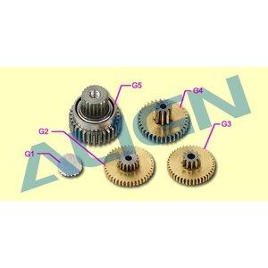 Align RC . AGN (DISC) - DS425M METAL SERVO GEAR SET