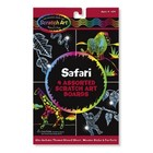 Melissa & Doug . M&D SAFARI SCRATCH ART