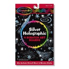 Melissa & Doug . M&D Silver Holographic Scratch Art