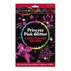 Melissa & Doug . M&D Princess Pink Glitter - Scratch Art