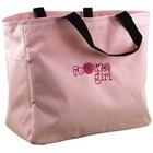 Hortense B. Hewitt Co. . HBH FLOWER GIRL PINK TOTE BAG