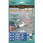 Armour Products (etch) . API Baby's First Moments - Glass Etching Stencil