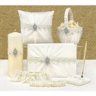 Hortense B. Hewitt Co. . HBH 6PC CHIFFON SET IVORY