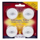 Darice . DAR (DISC) - Led Tea Lights W/Timer