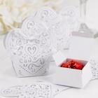 Hortense B. Hewitt Co. . HBH HEART DEC FAVOR BOXES