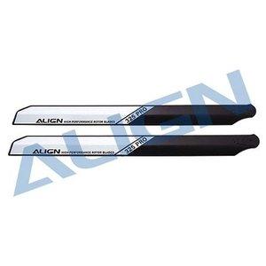 Align RC . AGN (DISC) - 325 PRO WOOD BLADE BLACK/WHITE