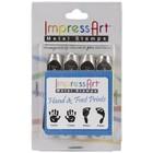 IMPressArt . IAD HAND/FOOT PRINT STAMP PK