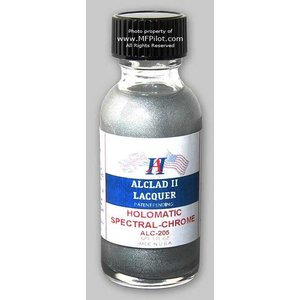 Alclad Paint . ALD Holomatic Spectral-Chrome Laq