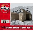 Airfix . ARX (DISC) - 1/48 AFGHAN SNGLE STORY HOUSE