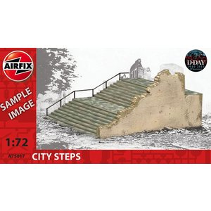 Airfix . ARX 1/72  EUROPEAN CITY STEPS