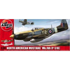 Airfix . ARX 1/24 P-51K Mustang