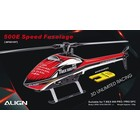 Align RC . AGN (DISC) - 4500 SPEED FUSELAGE RED/WHITE