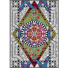 Stuff To Color . SFC 22X32.5 Wall Poster Circle Diamond