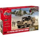 Airfix . ARX 1/48 BRIT PATROL/SUPP GRP
