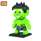 RC Pro . RCP BRICKS FIGURES INCREDIBLE HULK