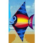 "Gayla Industries . GAL 52""X28"" Sun Fish Designer Delta Kite"