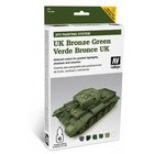 Vallejo Paints . VLJ UK BRONZE GREEN PNT SET