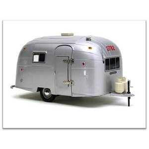 Motor City . MCY 1/18 AIR STREAM ALUMINUM CAMPER