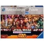 Ravensburger (fx shmidt) . RVB Starwars Panorama 1000Pc Puzzle