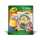 Crayola . CRY MINION COLOR STICK BOOK