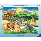 Ravensburger (fx shmidt) . RVB Africa Animal Puzzle 36Pc