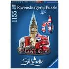 Ravensburger (fx shmidt) . RVB Big Ben Silhouette 1155Pc Puzzle