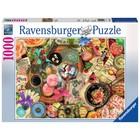Ravensburger (fx shmidt) . RVB Vintage Collage 1000Pc Puzzle