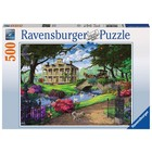 Ravensburger (fx shmidt) . RVB Visiting The Mansion 500Pc Puzzle