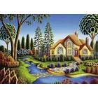 Ravensburger (fx shmidt) . RVB Cottage Dream  300Pc Puzzle