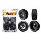 "FIREBRAND RC . FBR SABER VXR 2.2"" RACE WHEEL/TIRE SET"