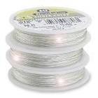 Beadalon . BDA Bead Wire Silver 15 Ft