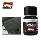 Ammo of MIG . MGA BLUE WASH FOR PANZER GREY