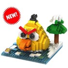 RC Pro . RCP BRICKS FIGURES ANGRY BIRDS YELLOW