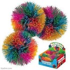 Toysmith . TOY RAINBOW POM BALL