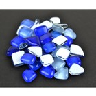 Midwest Design . MWD (DISC)-Blue Glass Stones 50 Grams